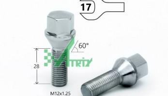 Болт М12х1,25 с шестигранной головкой