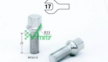БОЛТ M12X1,50X28