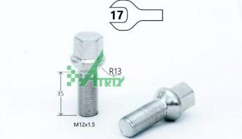 БОЛТ M12X1,50X35