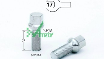БОЛТ M14X1,50X27