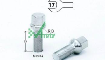 БОЛТ M14X1,50X35 ТАЙВАНЬ